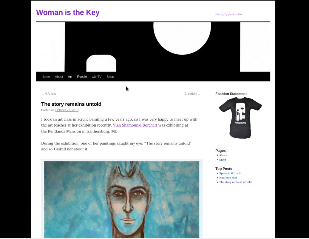 Woman is the key